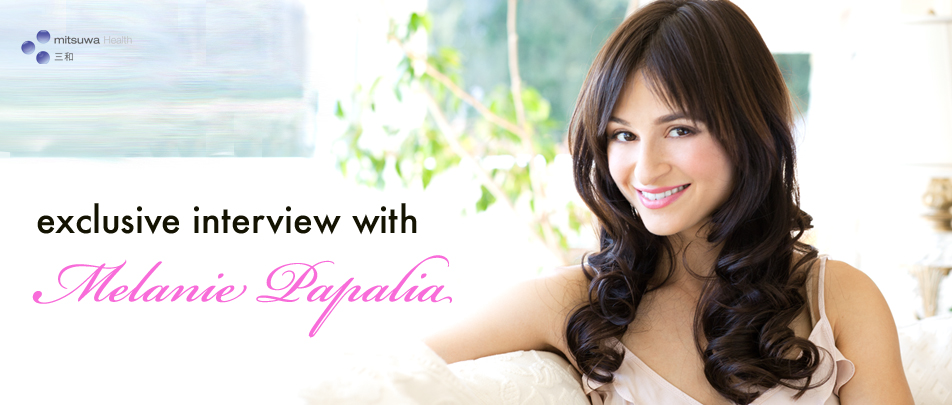 Exclusive interview with Melanie Papalia